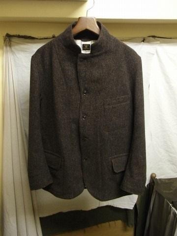 10月の製作 / classic shetlandwooltweed tailor jacket_e0130546_14420597.jpg