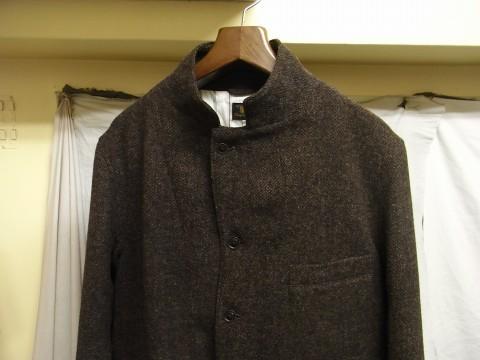 10月の製作 / classic shetlandwooltweed tailor jacket_e0130546_14430905.jpg