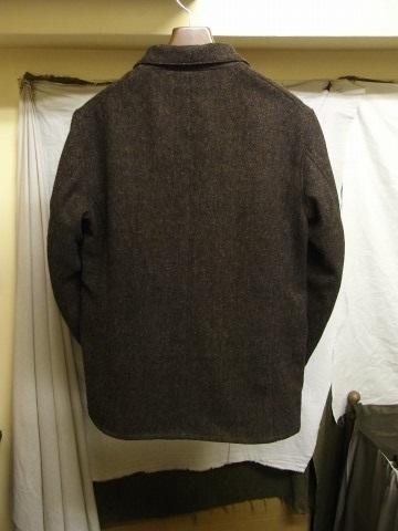 10月の製作 / classic shetlandwooltweed tailor jacket_e0130546_14433266.jpg