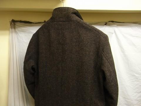 10月の製作 / classic shetlandwooltweed tailor jacket_e0130546_14434757.jpg