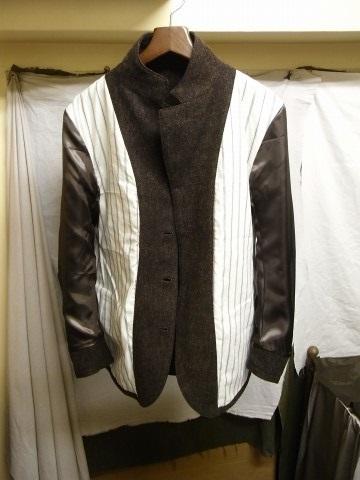 10月の製作 / classic shetlandwooltweed tailor jacket_e0130546_14443699.jpg