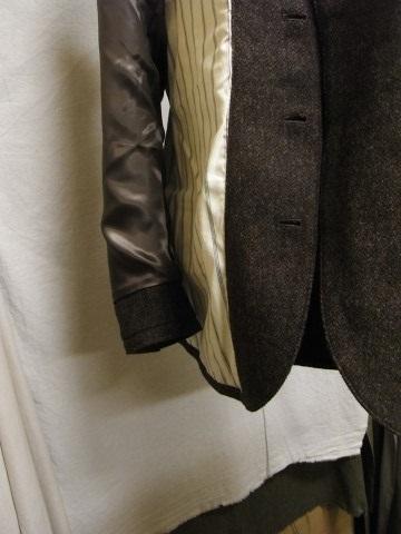 10月の製作 / classic shetlandwooltweed tailor jacket_e0130546_14445178.jpg