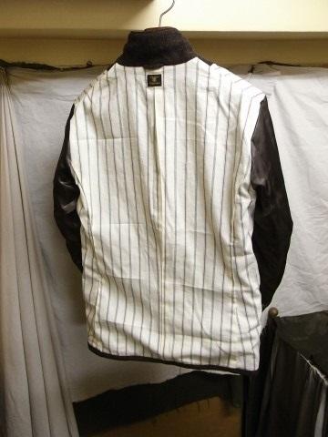 10月の製作 / classic shetlandwooltweed tailor jacket_e0130546_14450687.jpg