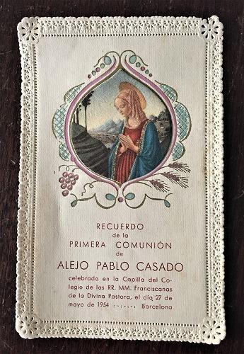 ホーリーカード(聖人のカード、エスタンパ)_f0112550_06482916.jpg