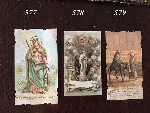 ホーリーカード(聖人のカード、エスタンパ)_f0112550_06482969.jpg
