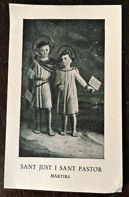 ホーリーカード(聖人のカード、エスタンパ)_f0112550_06532694.jpg