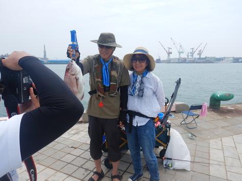 夏休み海釣フェスタIN清水港日の出埠頭_f0175450_7535985.jpg