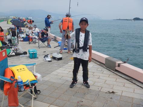 夏休み海釣フェスタIN清水港日の出埠頭_f0175450_7544695.jpg