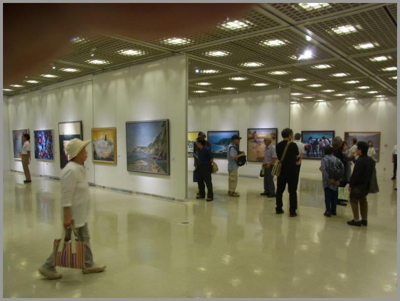 第34回日本の海洋画展はじまる。_a0086270_11535412.jpg