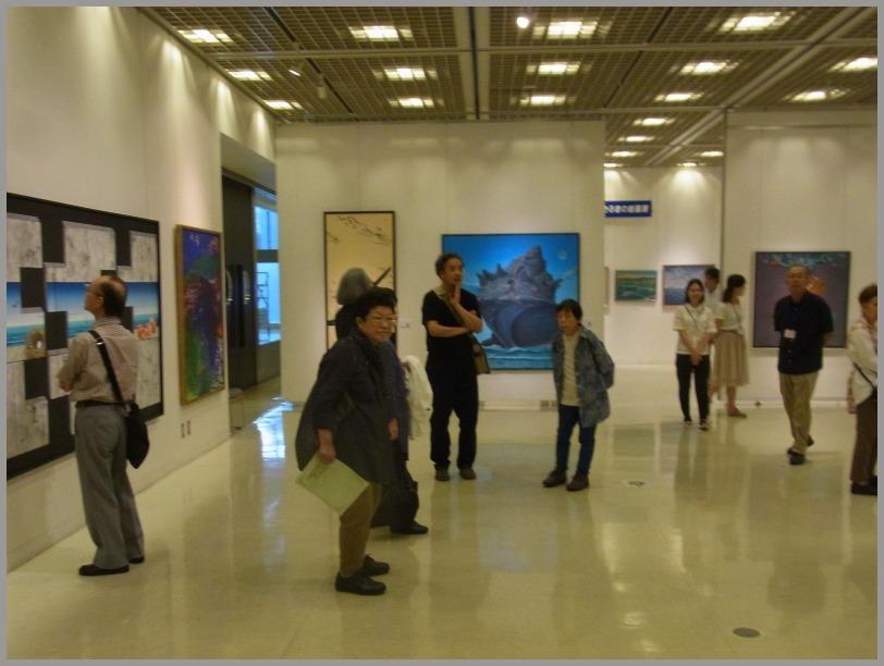 第34回日本の海洋画展はじまる。_a0086270_11561652.jpg