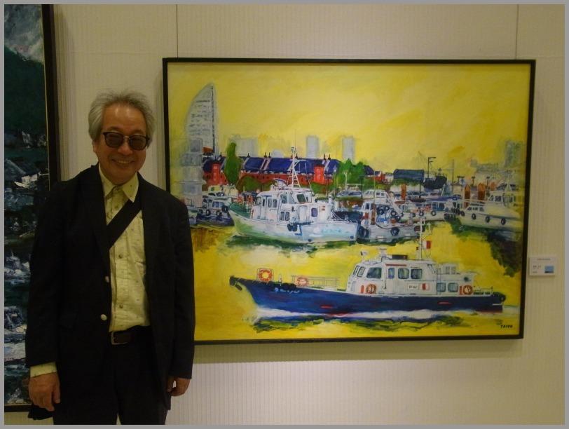 第34回日本の海洋画展はじまる。_a0086270_12014374.jpg