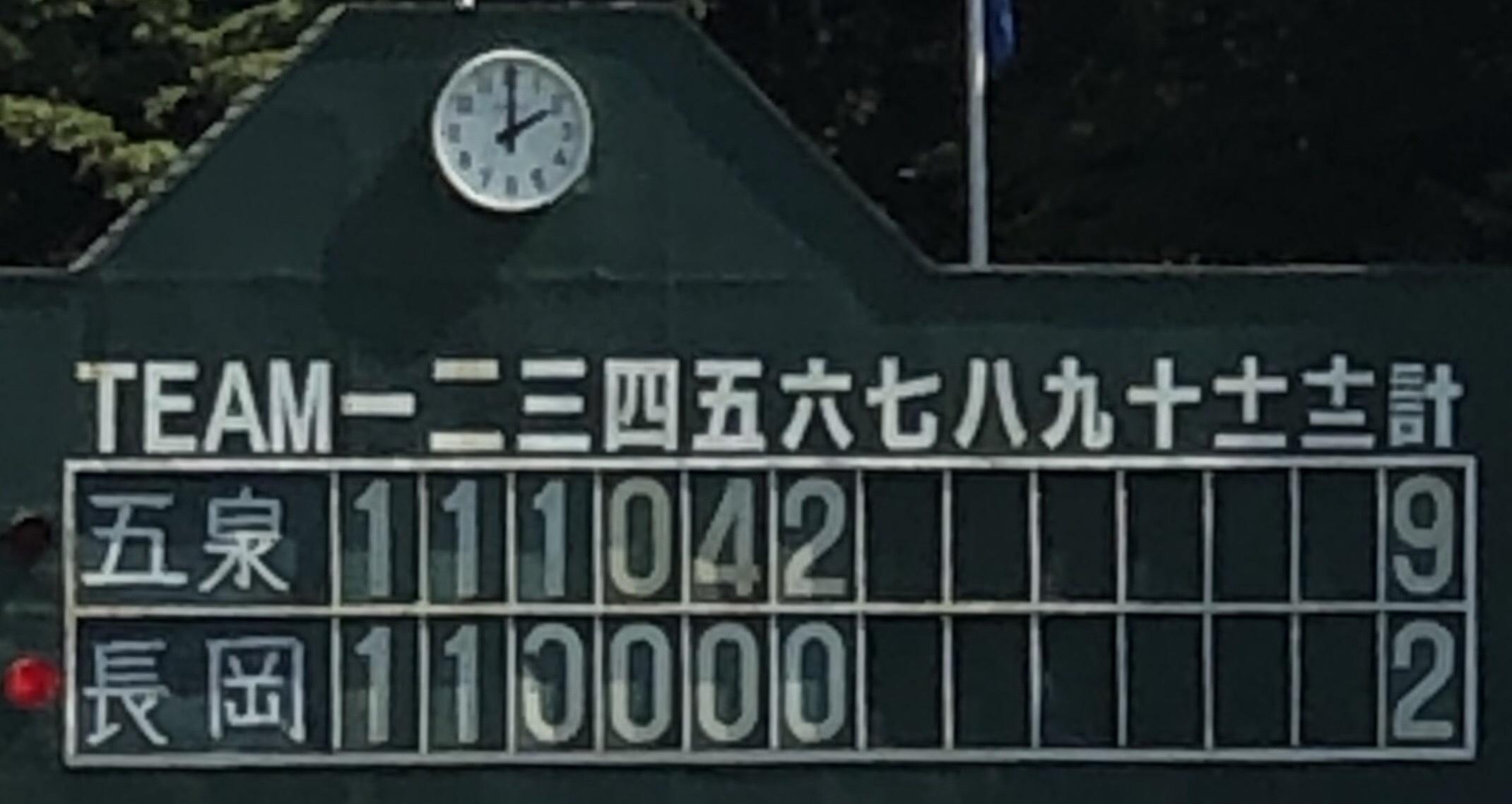 8月18日 加茂市長杯 学童野球大会 2日目結果です!(^^)d_b0095176_11525139.jpeg
