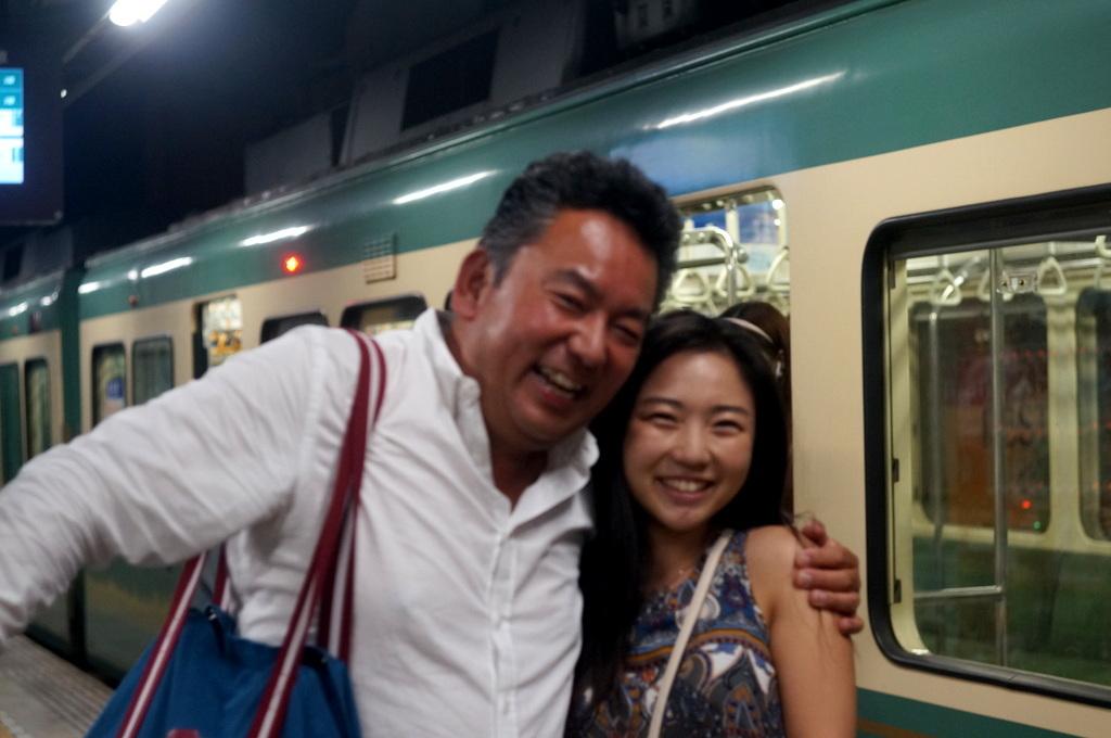 腰越駅で待ち合わせ。7/31_c0180686_02242679.jpg