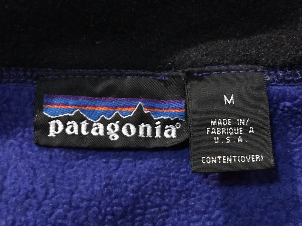 マグネッツ神戸店 8/24(土)Superior入荷! #5 Patagonia Fleece Item!!!_c0078587_14005320.jpg