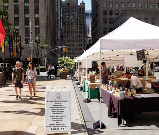 本日8月23日(金)が最終日、ロックフェラー・センターでのグリーン・マーケット(Greenmarket at Rockefeller Center)_b0007805_12530815.jpg