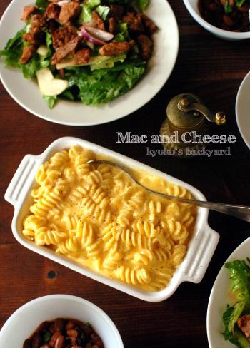 チェダーチーズたっぷりのマック&チーズ_b0253205_10370402.jpg