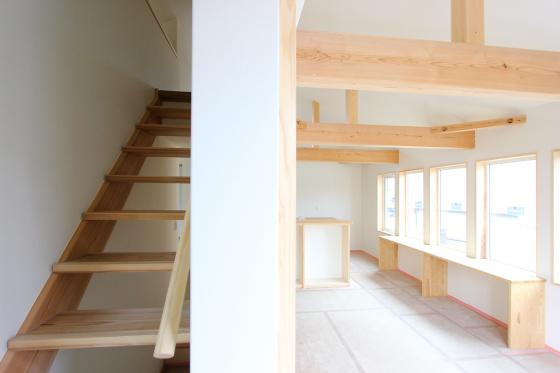 ストリップ階段と青いタイルと… 板橋の家_d0080906_16481460.jpg