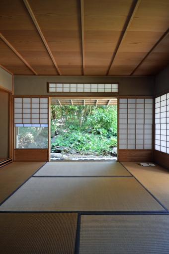 吉村順三の鎌倉山の茶室_c0195909_17221438.jpg