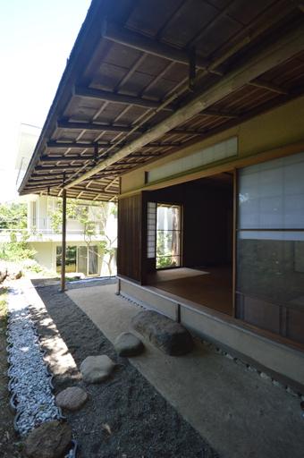吉村順三の鎌倉山の茶室_c0195909_17230637.jpg