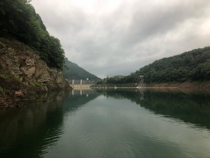 初フィールドの日吉ダムへ!_e0100021_21342726.jpg