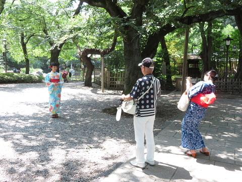 衣服は人生の設計図。靖国神社~銀座~横浜、歩コムの2日間。_d0046025_00184315.jpg