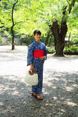 衣服は人生の設計図。靖国神社~銀座~横浜、歩コムの2日間。_d0046025_00202954.jpg