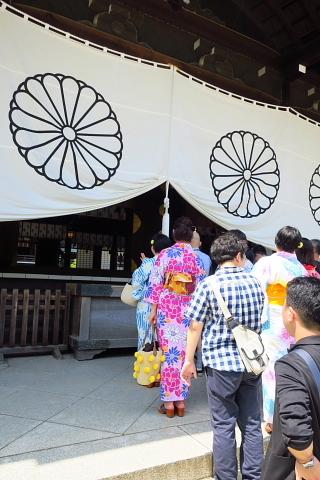 衣服は人生の設計図。靖国神社~銀座~横浜、歩コムの2日間。_d0046025_00210434.jpg