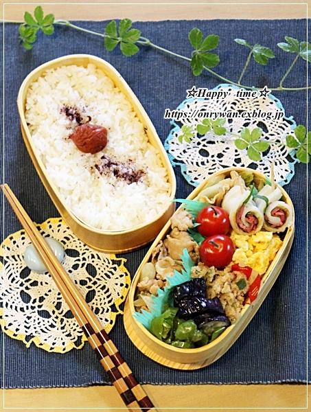 肉野菜炒め弁当と旅日記➂♪_f0348032_16520970.jpg