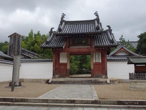萬福寺で蝉の声を聴きながら普茶料理をいただきました_c0030645_14490149.jpg