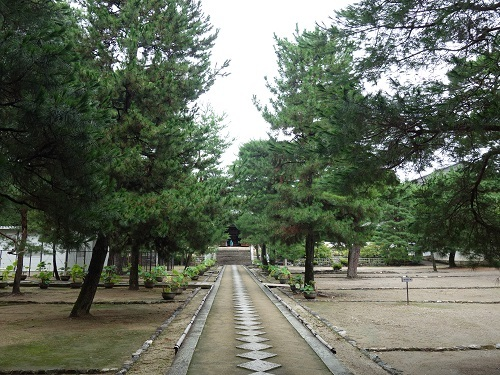 萬福寺で蝉の声を聴きながら普茶料理をいただきました_c0030645_14491066.jpg