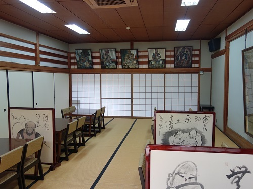 萬福寺で蝉の声を聴きながら普茶料理をいただきました_c0030645_14492691.jpg