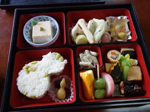 萬福寺で蝉の声を聴きながら普茶料理をいただきました_c0030645_14492922.jpg