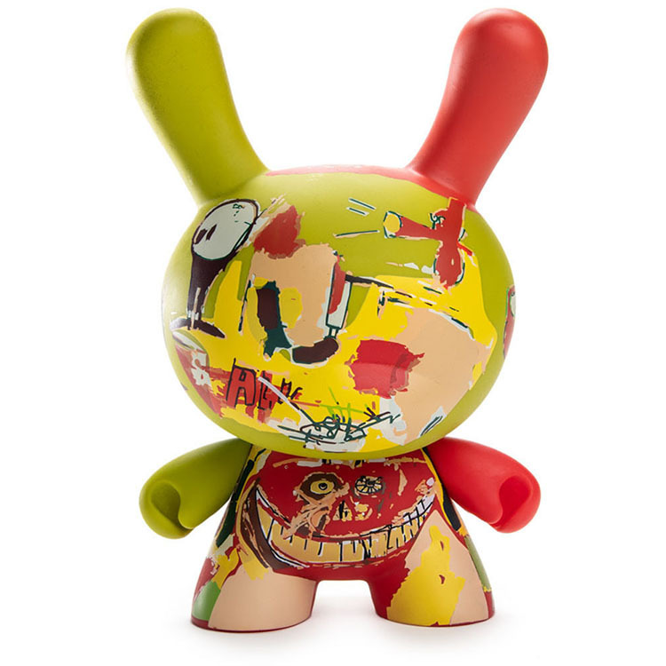"8"" Jean-Michel Basquiat Masterpiece Dunny - Wine of Babylon_e0118156_03210812.jpg"