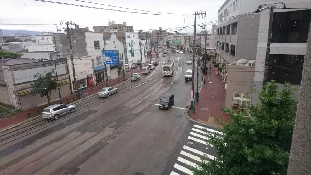 函館十字街の写真。まちづくりセンターも。映画さよならくちびるの函館ロケ地は、生協前近く_b0106766_15175835.jpg