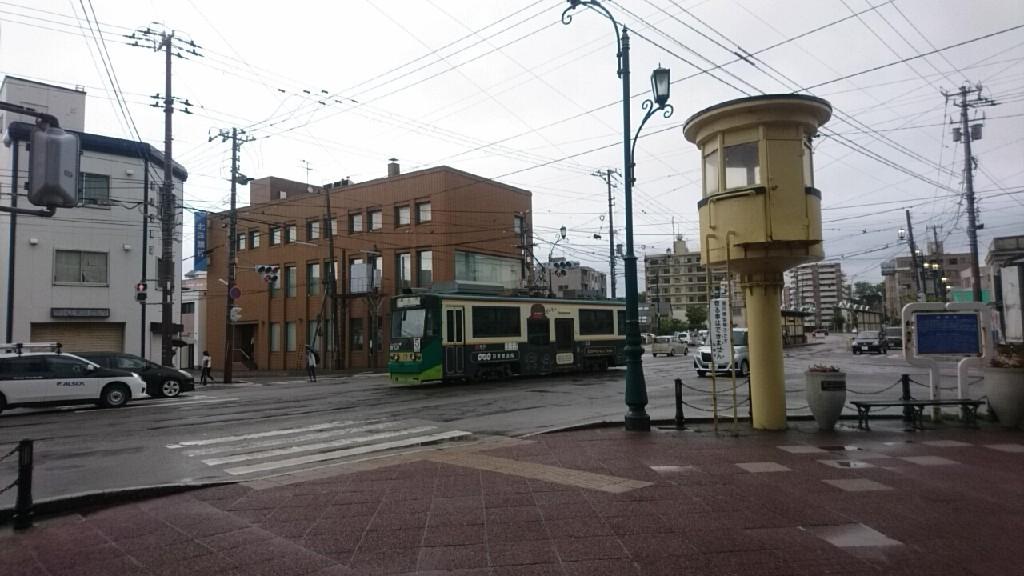 函館十字街の写真。まちづくりセンターも。映画さよならくちびるの函館ロケ地は、生協前近く_b0106766_15175855.jpg