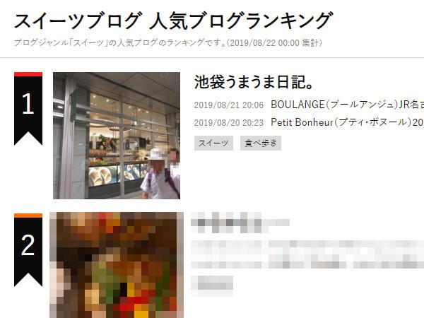 スイーツブログ1位、ありがとうございます!_c0152767_20230507.jpg