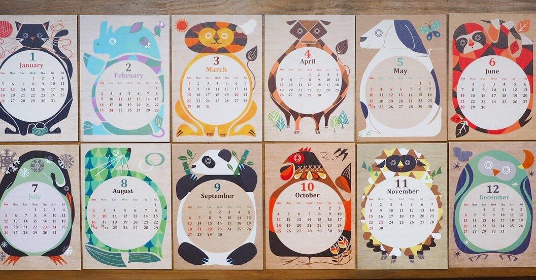 タカミヤユキコさんのカレンダー_b0206672_12195179.jpeg