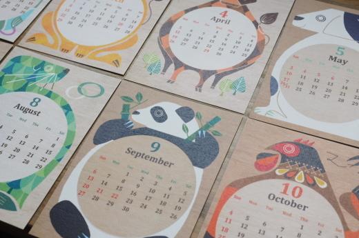 タカミヤユキコさんのカレンダー_b0206672_12203934.jpeg