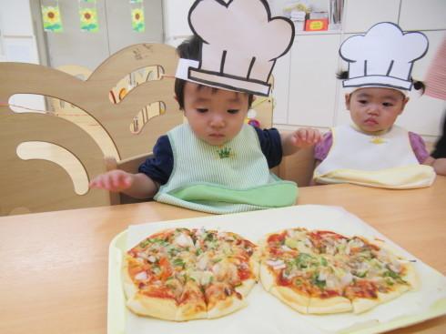【南品川園】大きなPizza!_a0267292_15124236.jpg
