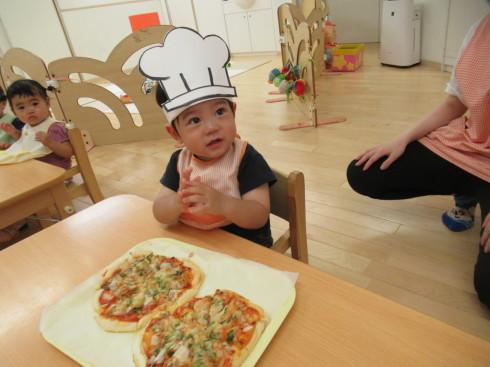 【南品川園】大きなPizza!_a0267292_15124715.jpg