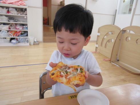 【南品川園】大きなPizza!_a0267292_15125917.jpg