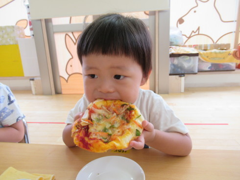 【南品川園】大きなPizza!_a0267292_15130337.jpg