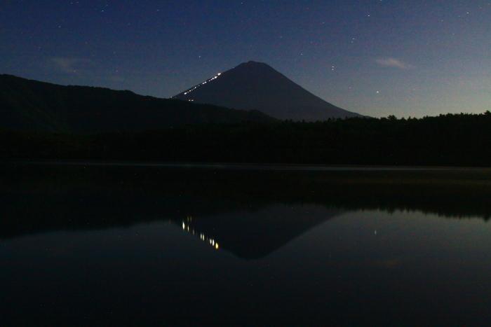 令和元年8月の富士(20)西湖根場浜からの富士_e0344396_18234694.jpg