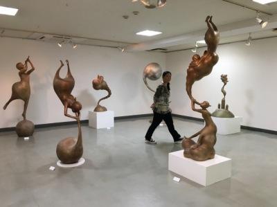 【両室】上松真弥 彫刻展_f0106896_18445544.jpg