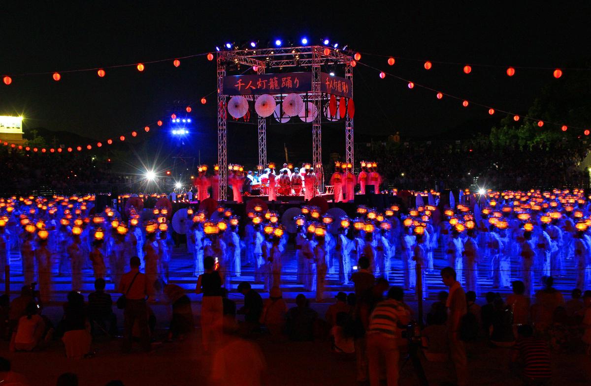 山鹿灯篭祭り。_b0044115_14143600.jpg