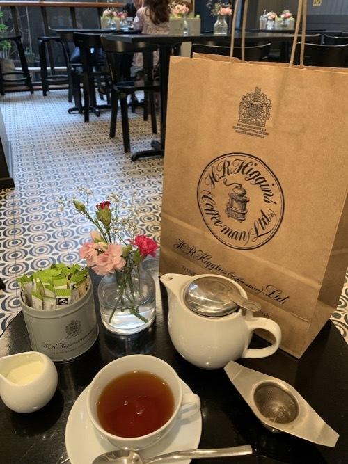 王室御用達のコーヒ&紅茶のお店ヒギンズ ロンドン_f0380234_04375774.jpg