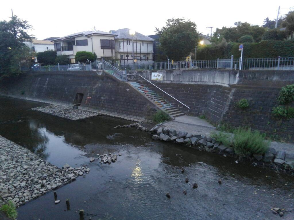 大岡川階段