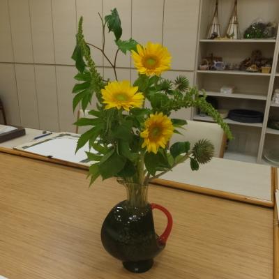 オークリーフ(絵画教室の花3)_f0049672_12041304.jpg