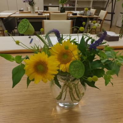 オークリーフ(絵画教室の花3)_f0049672_12042732.jpg