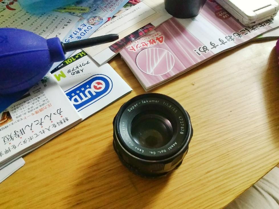 ★買ってもたー^_^;〔Takumar 55mm f1.8〕_e0291683_21343249.jpg
